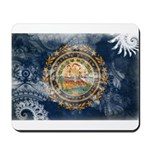 New Hampshire Flag Mousepad