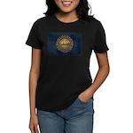 New Hampshire Flag Women's Dark T-Shirt