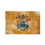 New Jersey Flag Rectangle Magnet