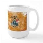 New Jersey Flag Large Mug