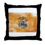 New Jersey Flag Throw Pillow