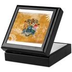 New Jersey Flag Keepsake Box
