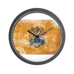 New Jersey Flag Wall Clock