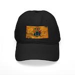 New Jersey Flag Black Cap