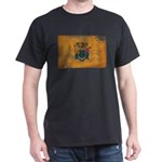 New Jersey Flag Dark T-Shirt