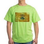 New Jersey Flag Green T-Shirt