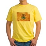 New Jersey Flag Yellow T-Shirt