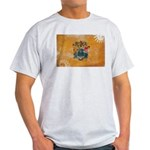 New Jersey Flag Light T-Shirt