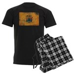New Jersey Flag Men's Dark Pajamas