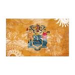 New Jersey Flag 38.5 x 24.5 Wall Peel