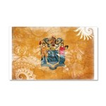 New Jersey Flag Car Magnet 20 x 12