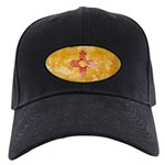 New Mexico Flag Black Cap