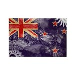 New Zealand Flag Rectangle Magnet (100 pack)