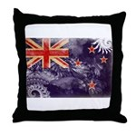 New Zealand Flag Throw Pillow