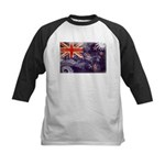 New Zealand Flag Kids Baseball Jersey
