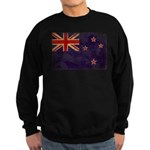 New Zealand Flag Sweatshirt (dark)