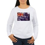 New Zealand Flag Women's Long Sleeve T-Shirt