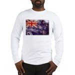 New Zealand Flag Long Sleeve T-Shirt