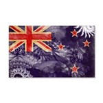 New Zealand Flag 22x14 Wall Peel