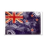 New Zealand Flag Car Magnet 20 x 12