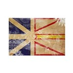 Newfoundland Flag Rectangle Magnet (100 pack)