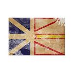 Newfoundland Flag Rectangle Magnet (100 pack)