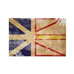Newfoundland Flag Rectangle Magnet (10 pack)