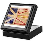 Newfoundland Flag Keepsake Box