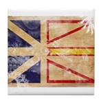 Newfoundland Flag Tile Coaster