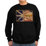 Newfoundland Flag Sweatshirt (dark)
