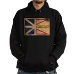 Newfoundland Flag Hoodie (dark)