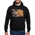 Newfoundland Flag Hoodie (dark)