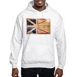 Newfoundland Flag Hooded Sweatshirt