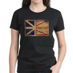 Newfoundland Flag Women's Dark T-Shirt