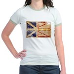 Newfoundland Flag Jr. Ringer T-Shirt