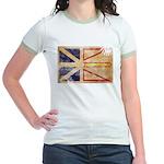 Newfoundland Flag Jr. Ringer T-Shirt