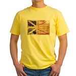 Newfoundland Flag Yellow T-Shirt