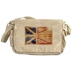 Newfoundland Flag Messenger Bag