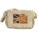 Newfoundland Flag Messenger Bag