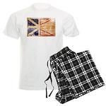 Newfoundland Flag Men's Light Pajamas