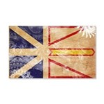 Newfoundland Flag 22x14 Wall Peel