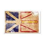 Newfoundland Flag Car Magnet 20 x 12