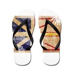 Newfoundland Flag Flip Flops