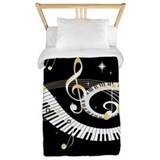 designer Musical notes Twin Duvet