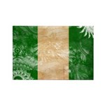 Nigeria Flag Rectangle Magnet (100 pack)