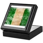 Nigeria Flag Keepsake Box