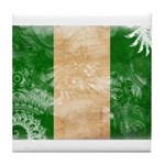Nigeria Flag Tile Coaster