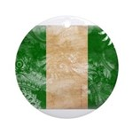 Nigeria Flag Ornament (Round)