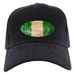 Nigeria Flag Black Cap