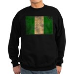 Nigeria Flag Sweatshirt (dark)